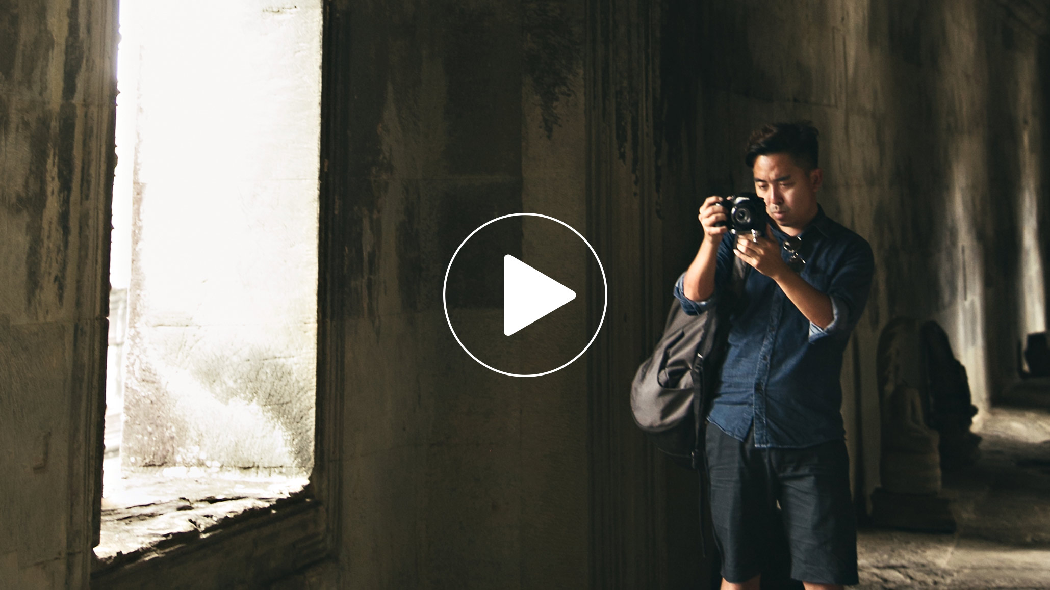 Samsung NX1 Review at Angkor Wat
